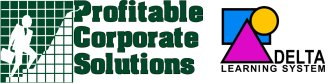logo: Profitable Corporate Solutions, Delta Learning System